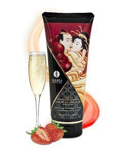 Crème Vin Pétillant à la Fraise 200 ml by Shunga