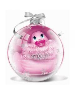 Big Tease Mini Paris Duckie Ornament Rose