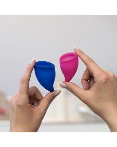 Fun Cup Pink & Ultramarine Explore Kit by Fun Factory