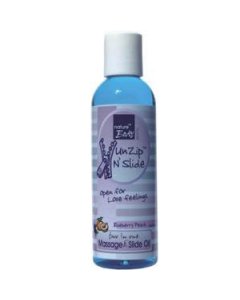 Nature Body UnZip N´Slide massage Blueberry/Peach